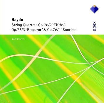 Haydn : String Quartets Op.76 Nos 2 - 4  -  Apex
