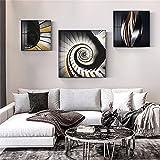 paglutaw Resumen Extensión Espacio Lienzo Pintura Espiral Escaleras Y...