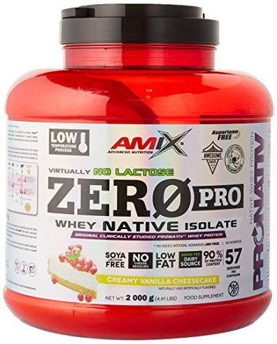 Amix Zeropro Protein 2 Kg Vainilla-Tarta De Queso 2000 g