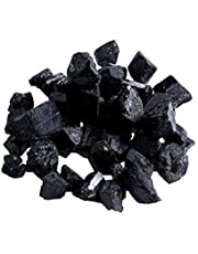 Mainstayae 20 مم 50 جرام الطبيعية الأسود كريستال التورمالين حجر الخام الصخور المعدنية عينة أحجار معدنية طبيعية