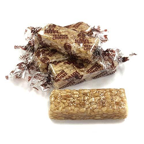 Sesame Seed and Honey Crunch Mini Candy Bars - 3 LB Bulk Bag