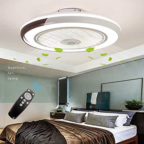 Invisible ventilador de techo luz, moderna LED Ventilador de