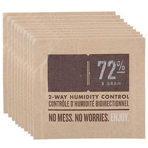 Weiyiroty Cigar Humidity Control Bag, 2‑Way Cigar Humidifier Bag, 10Pcs...