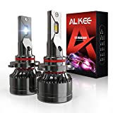 9005 LED Headlight Bulbs, Aukee HB3 110W High Power 18,000LM Extremely Bright 6000K Cool White CSP Chips Conversion Kit Adjustable Beam