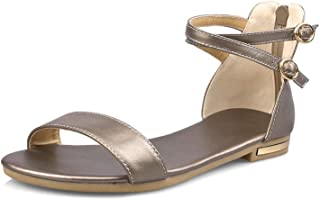BalaMasa Womens ASL06815 Pu Fashion Sandals
