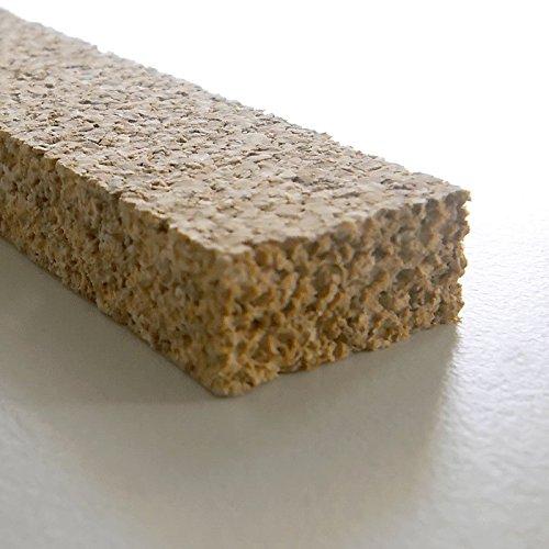 Korkstreifen natur 10 x 22 x 900 mm // für Modelbau, Dehnungsfugen, Basteln uvm. (36 Stk.) (ca. 32 lfm)