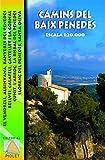 Camins del Baix Penedès, mapa excursionista. Escala 1:20.000. Editorial Piolet.