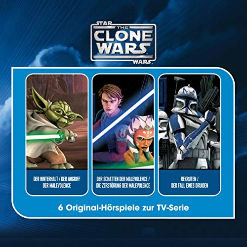 The Clone Wars. Hörspielbox Titelbild