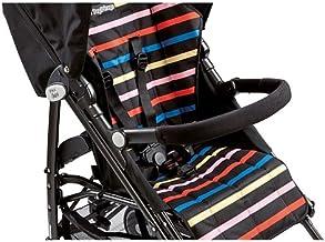 Peg-Pérego Pliko Mini - Barra frontal para silla de paseo, color negro