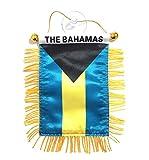 PRK 14 Bahamas Flaggen für Autos, Wohnungen, Fenster, Aufkleber auf Glas, Qualität Made Mini Banners