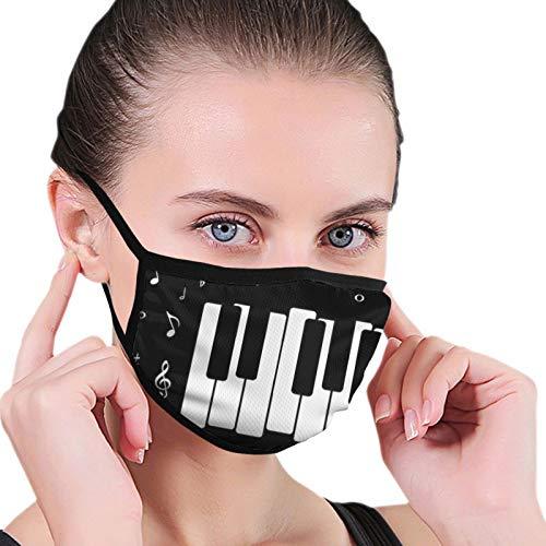 Modern Note Piano Gesichtsschutz Waschbar Wiederverwendbar Atmungsaktiv Winddicht Mund-Muffel Mundschutz