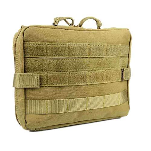 MSYG Bolsa de cintura táctica al aire libre multifunción militar bolsa de cintura portátil impermeable camping Survive bolsa kit de herramientas para viajes senderismo escalada