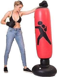 WDV Nadmuchiwana torba bokserska wolnostojąca torba bokserska fitness wieża szkoleniowa kolumna bokserska dla młodzieży dz...