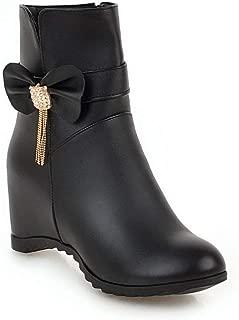 BalaMasa Womens ABS14008 Pu Boots