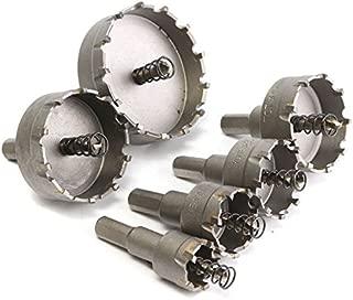 New 6pcs 22 to 65mm Carbide Drill Bits Hole Saw Cutter corn hole saw blade 5.13 2.16 nmo diablo kit 1.4mm drill bits