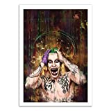 Wall Editions Art-Poster - Joker Suicide Squad - Wisesnail