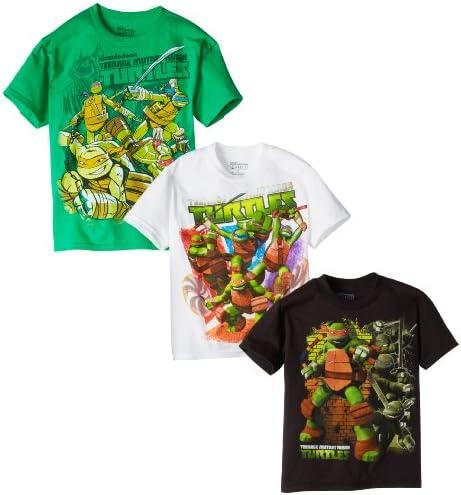 Teenage Mutant Ninja Turtles Boys 3 Pack T-Shirt by Nickelodeon