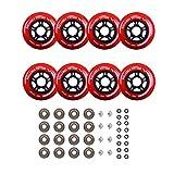 Rollerex Inline Skate/Rollerblade Wheels VXT500 80mm