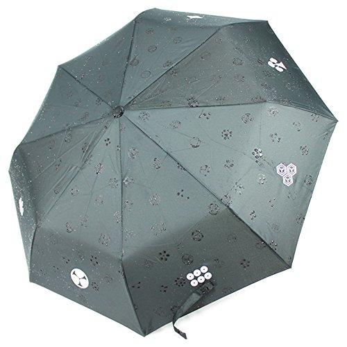 Neuer japanischer Rain Kamon Sword Regenschirm Samurai Katana aus Japan