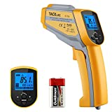 Infrarot Thermometer -50 bis 550°C Tacklife IT-T05 Dual Laser Thermometer IR Thermometer Pyrometer Temperaturmessgerät Berührungsloses Thermometer Digital LCD Beleuchtung