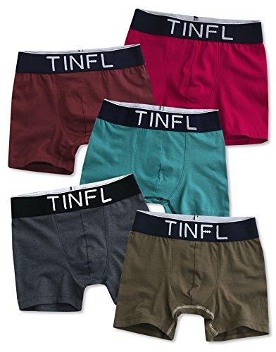 TINFL Boys Solid Casual Lounge Sleep Pajama Pants BKLP-01-F01-Navy M