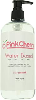 PinkCherry Water Based Personal Lubricant in 16 Ounces - Latex Safe Unflavored Unscented Lube