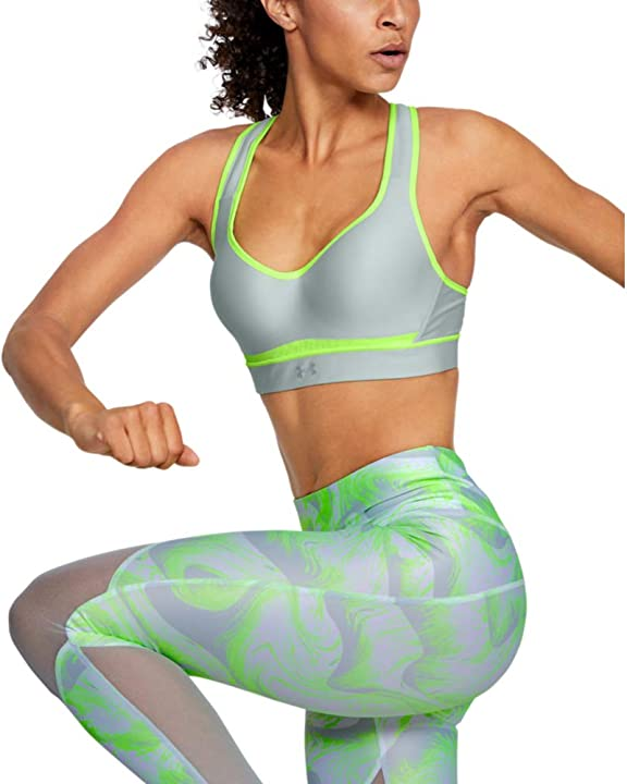 Reggipetto donna fitness under armour warp knit high impact B072FJ6F1X