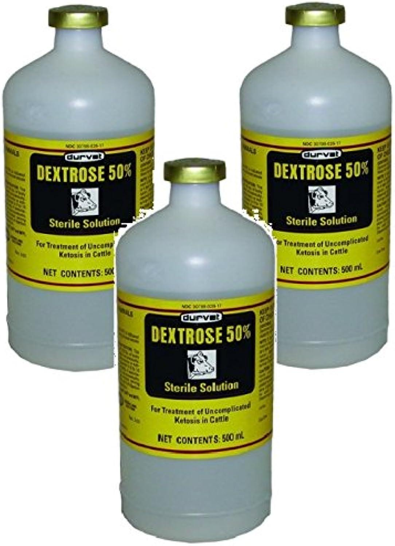 (3 Pack) Durvet Dextpink 50 Percent  500 milliliters each