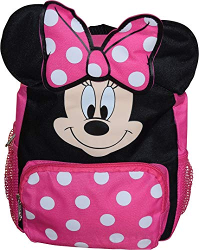 Minnie Mouse Big Face Little Girl 10' Backpack