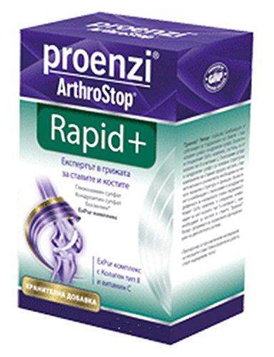 Proenzi ArthroStop Rapid+ unterstützt die Gelenk-Flexibilität und hilft, die Gesundheit der Gelenke zu erhalten. 30 Tabletten.Sehr wirkungsvoll.