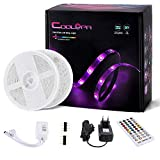 10M Tiras LED RGB 5050, COOLAPA 300 LEDs Tira LED de Luces Kit con Control...