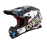 O'Neal 3Series Villain Kinder Motocross Helm Enduro Quad Cross Offroad FMX Freestyle ABS, 0623-V1, Größe M