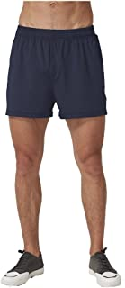 COSSNISS Men's 5 Athletic Workout Shorts with Mesh Pockets