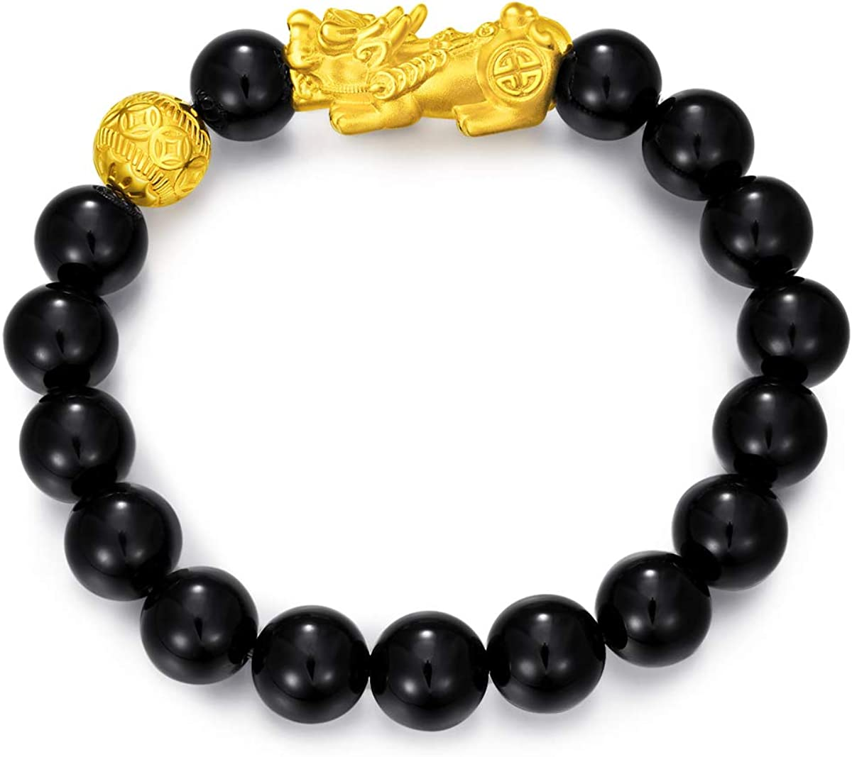 CHOW TAI FOOK 999 24K Gold Large Portland Mall Pixiu Charm Br Translated Fortune Ball and