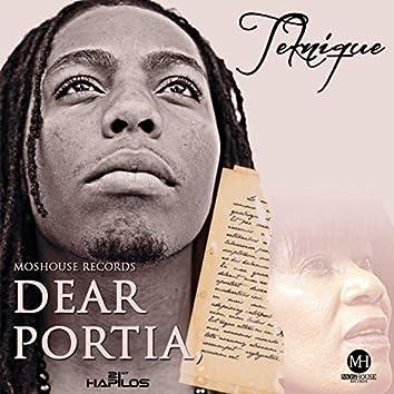 Dear Portia - Single