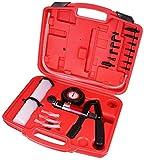 LARS360 Probador de vacío de freno de automoción Bomba de vacío de ventilación de freno Ventanilla de freno Portable Handheld Car Brake Vacuum Tester