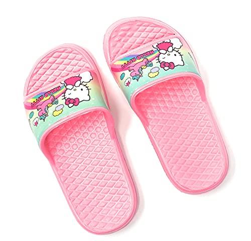 Sandales – Chanclas infantiles Hello Kitty rosa del 24 al 31, rosa, 29 EU Large