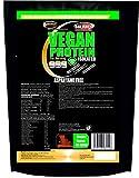 Proteine Vegetali Vegane in Polvere gr 750 Cioccolato Polvere Proteica con Proteine del Pisello Soia Riso 90% di Proteine Senza Aspartame Senza Zuccheri
