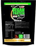 Proteína Vegetal en Polvo Vegana 1500 g Chocolate Proteína de Guisante Soja Arroz 90% de proteína Batido de proteína de reemplazo de comida vegana Sin aspartamo Sin azúcar