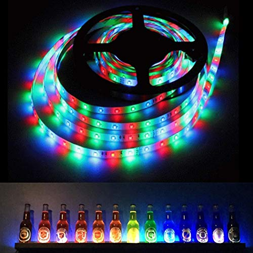 WEIKI LED Strip Light LED Rope Lighting Color Changing Kit with 44-Keys IR Remote Controller 7