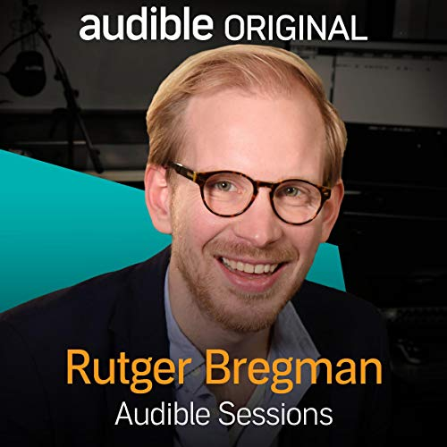 Rutger Bregman audiobook cover art