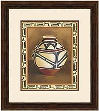 BLACK FOREST DECOR Southwest Pottery I Framed Print