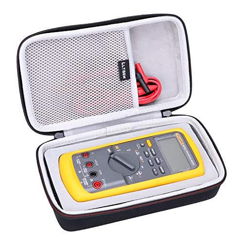 LTGEM EVA Hard Carrying Case for Fluke 87-V Digital Multimeter-Grey