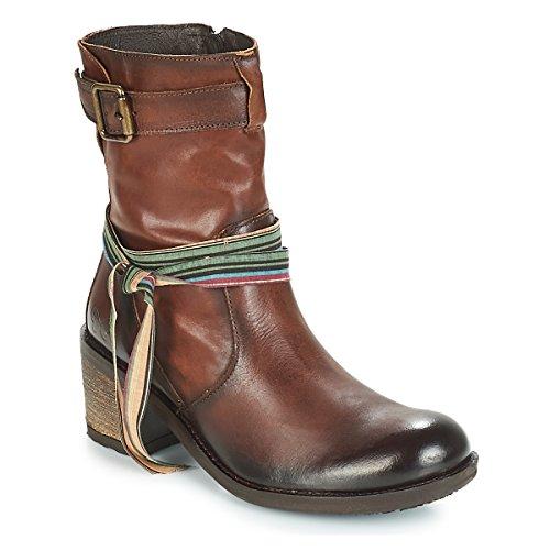 Felmini Urraco Stiefelletten/Boots Damen Braun - 36 - Low Boots Shoes