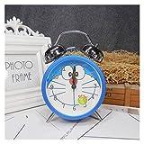 XIAOBMY Alarma Reloj Doraje de Alarma de Alarma Vintage Creativo Doraemon...