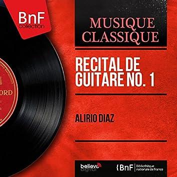 Récital de guitare No. 1 (Mono Version)
