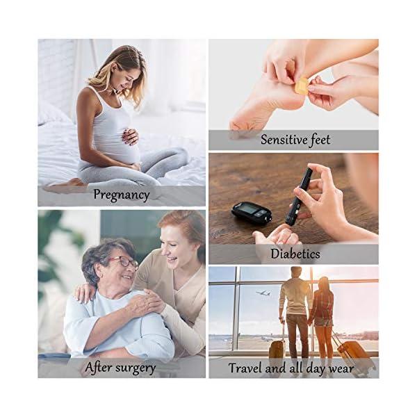 buy  MD 6 Pairs Non-binding Women's Moisture ... Diabetes Care
