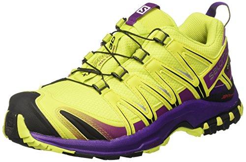 Salomon Xa Pro 3d Gtx W, Scarpe da Trail Running Donna, Giallo (Lime Punch./Grape Juice/Acai), 38 2/3 EU