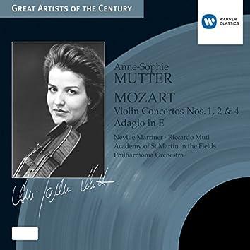 Mozart: Violin Concertos Nos. 1, 2 & 4 - Adagio in E