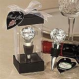Nuevo Tapón de vino de vidrio útil Inicio Colección de vino tinto Tapón de botella de vidrio al vacío Tapones de vino reutilizables Seale para bodas, Azul, Australia